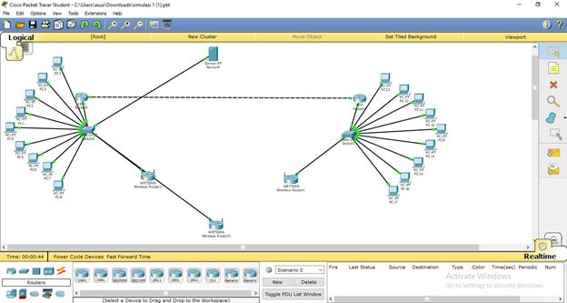 Topologi jaringan packet tracer 11